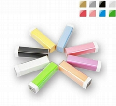 PA002-Lip gloss style power bank, 2600mah mobile phone power charger