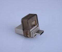 OTG001-smart phone usb flash drive, OTG usb drive, phone usb drive