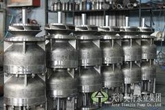 耐腐蚀大型不锈钢潜水泵