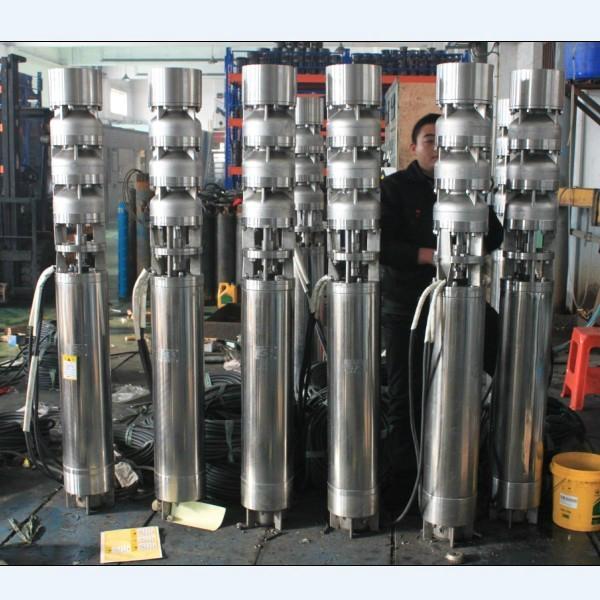 耐腐蝕大型不鏽鋼潛水泵 2