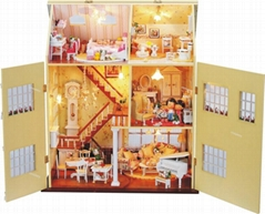 High quality wooden toy doll  house