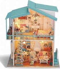 Romantic DIY toy doll house