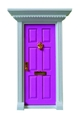 Magic door doll house accessories