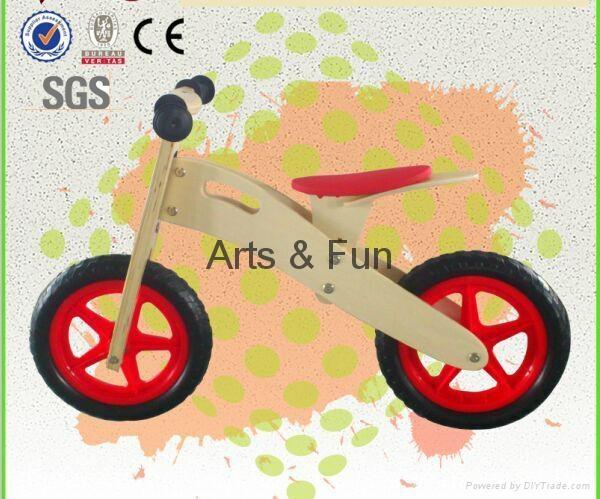 Wooden Toy  Balance Bike  1