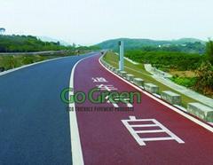 Go Green cold mix colored asphalt
