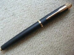 宝珠笔插套式钢笔
