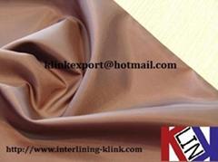 Polyester taffeta fabric Plain Twill Dobby