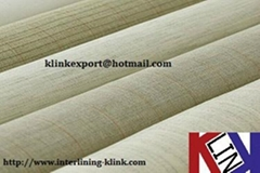 Polyester Hair interlining for suits use KL1010