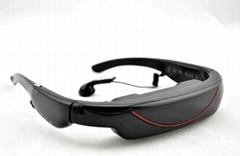 Portable Eyewear 72-Inch 16:9 Widescreen Multimedia Player Portable