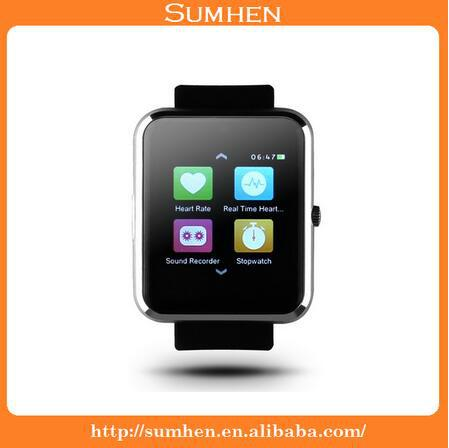 HAIER V1 MTK2502C Bluetooth 4.0 Smart Watch Heart Rate Monitor Sync Function Rem 1
