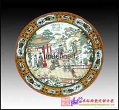 供應批發定做陶瓷紀念盤