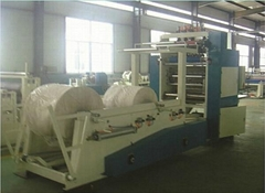 Facial tissue paper manufacturing machine
