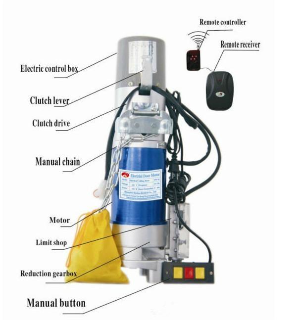 AC 300KG electric rolling door motor 2