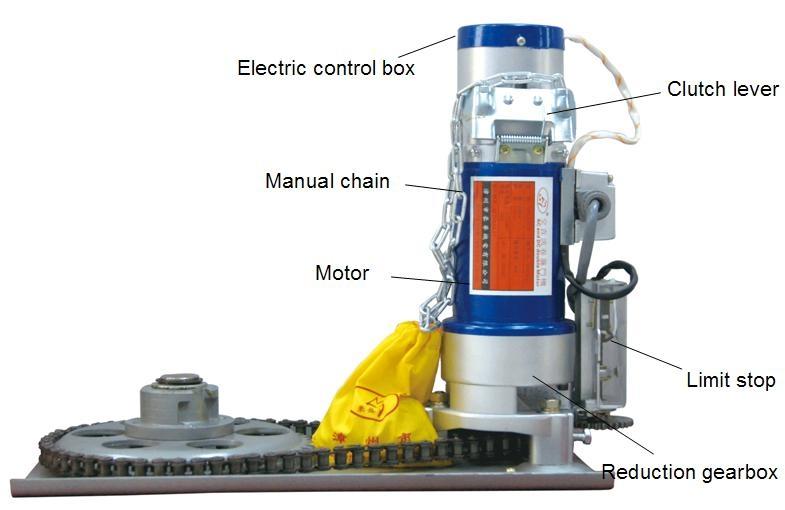 AC&DC 300KG electric rolling door motor 4