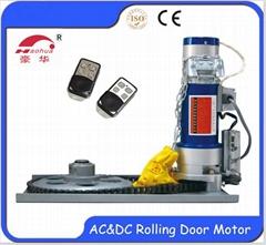 dc 500kg rolling shutter door motor