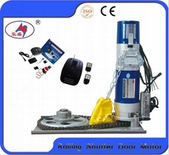 Remote controller electric rolling door operators