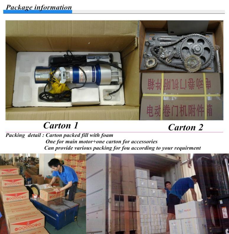 AC 300KG-2.0T roller shutter door motor 4