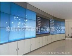 亿特朗最新超薄47寸液晶拼接墙