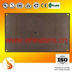 Mica heating board and panel for radiant