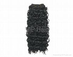 Top Quality  Blond  Deep Wave  100% India Human  Virgin Hair Weaving
