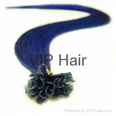 Promotion 100% Malaysian Remy Hair U tip Hair  Extensions