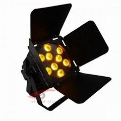 LED PAR Light With Barndoor