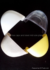 safety shoes 604 plastic toe caps