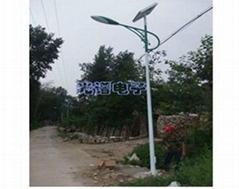 滄州農村6米20W太陽能路燈