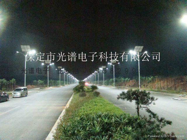 4米高度太陽能路燈 2
