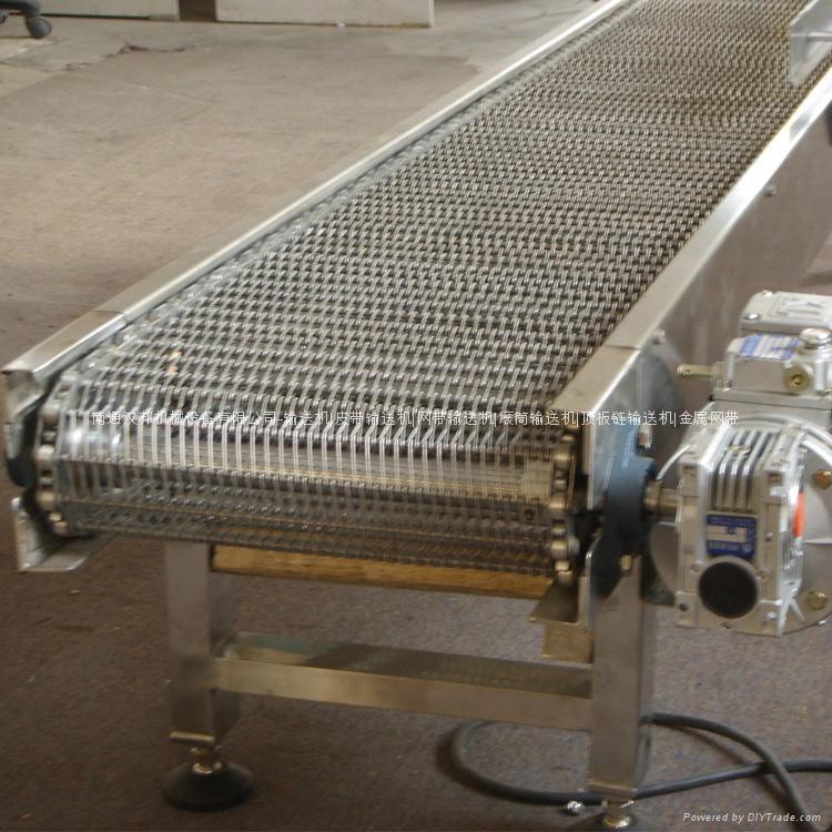 不锈钢网带输送机 2