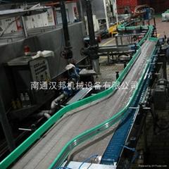 塑鋼鏈板輸送機