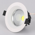 3-24W COB downlight LED 2 years warranty
