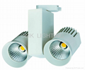 High Quality SHARP 20W Dimmable led track light  5