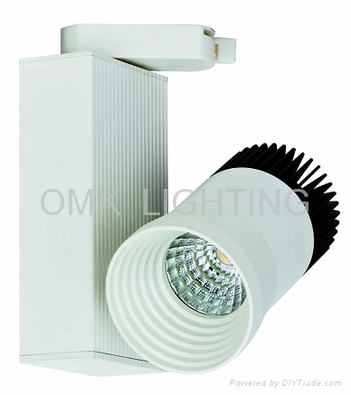 High Quality SHARP 30w Dimmable led track light 3