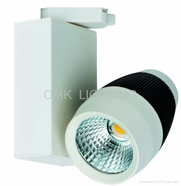 High Quality SHARP 30w Dimmable led track light 5