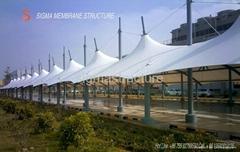 car parking membrane structure