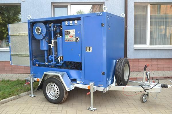 GlobeCore Mobile Transformer Oil Purification Plant CMM 4 1