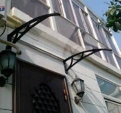 上海雨水消音防紫外線雨篷遮陽蓬
