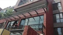 上海貝特雨篷窗戶陽台雨棚雨搭廠家直銷