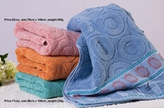 View More Images(5) Pure Cotton Towel At High Quality Factory Direct Bath Towe