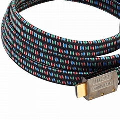 high speed gold connector hdmi cable support ethernet 3D 4K 19pin hdmi cable