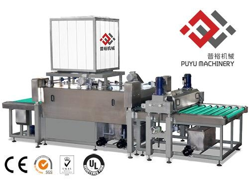 Building Glass Washing And Drying Machine With Disc Brush 1