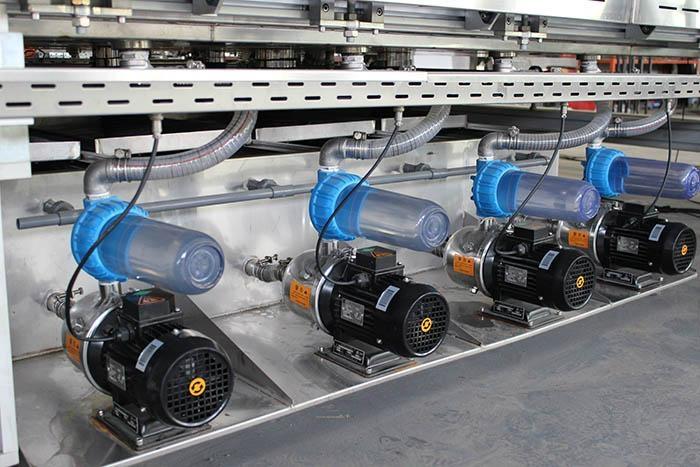 Photovoltaic Curtain Wall BIPV Glass Washing And Drying Machine 4