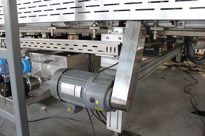 Photovoltaic Curtain Wall BIPV Glass Washing And Drying Machine 5