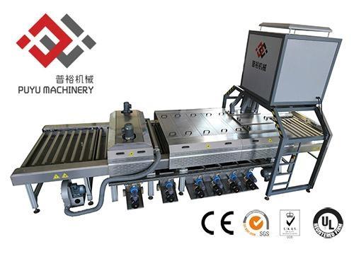 Solar Coated Glass Washing And Drying Machine 1