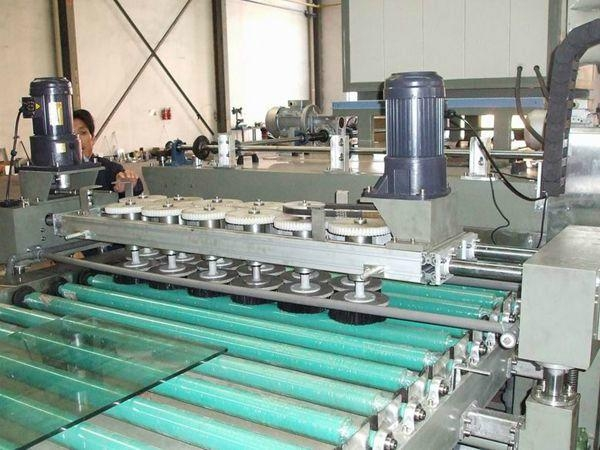Building Glass Washing and Drying Machine With Disc Brush 4