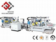 Electronic Glass Straight-line Double Edger From Puyu Machinery