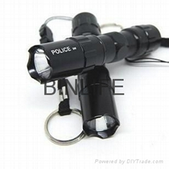 2014 New Hot Mini Black LED Waterproof Torch led flashlight