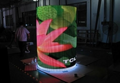 P10 curved led display