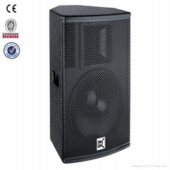 Two way full range 15 inch portable pa system for sale
